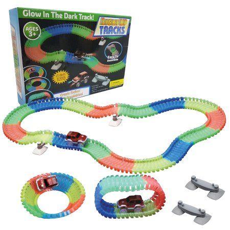 Toys Glow Toy Race Track Light Up