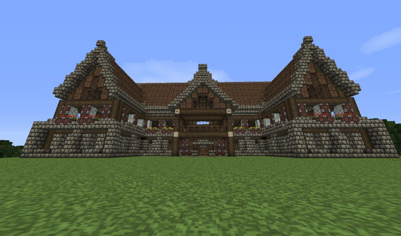 Image Detail For Medieval Mansion Speedbuild Schematic