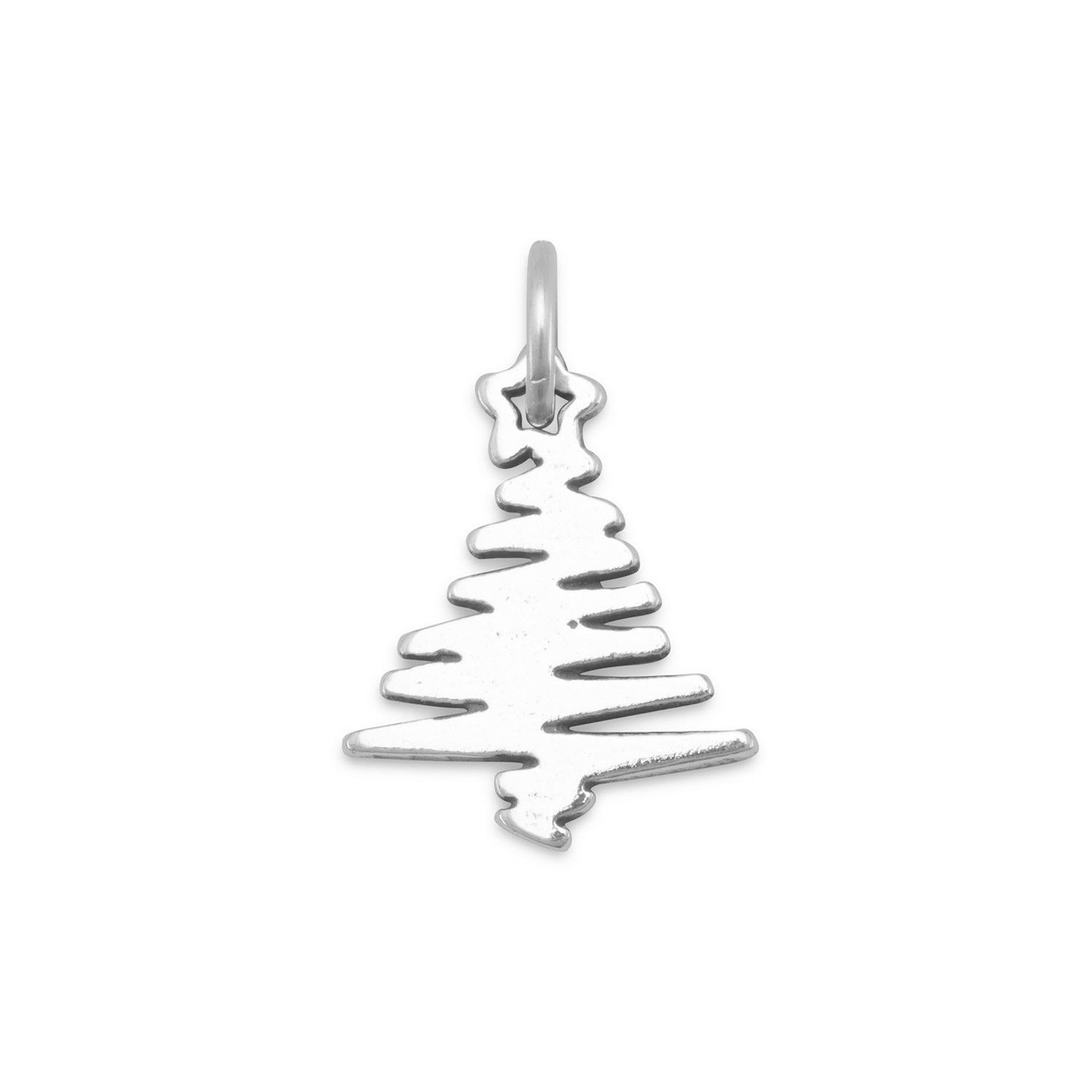 $18 90 Zig Zag Christmas Tree Charm