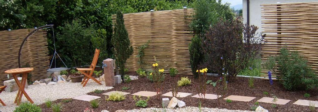 17 parasta ideaa: sichtschutzzaun bambus pinterestissä, Garten und Bauen
