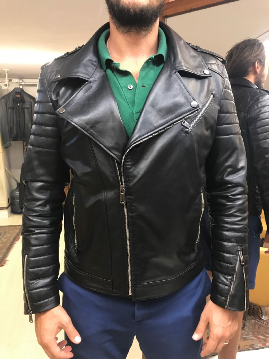 Famous Turkish Leather By Leathermoodstore On Etsy Genuine Leather Jackets Leather Jacket Lambskin Jacket [ 1200 x 900 Pixel ]