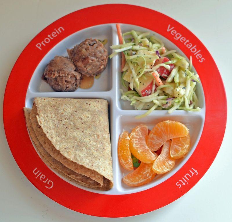 Sweet No ChopBroccoli Slaw Recipe MyPlate Meal Ideas