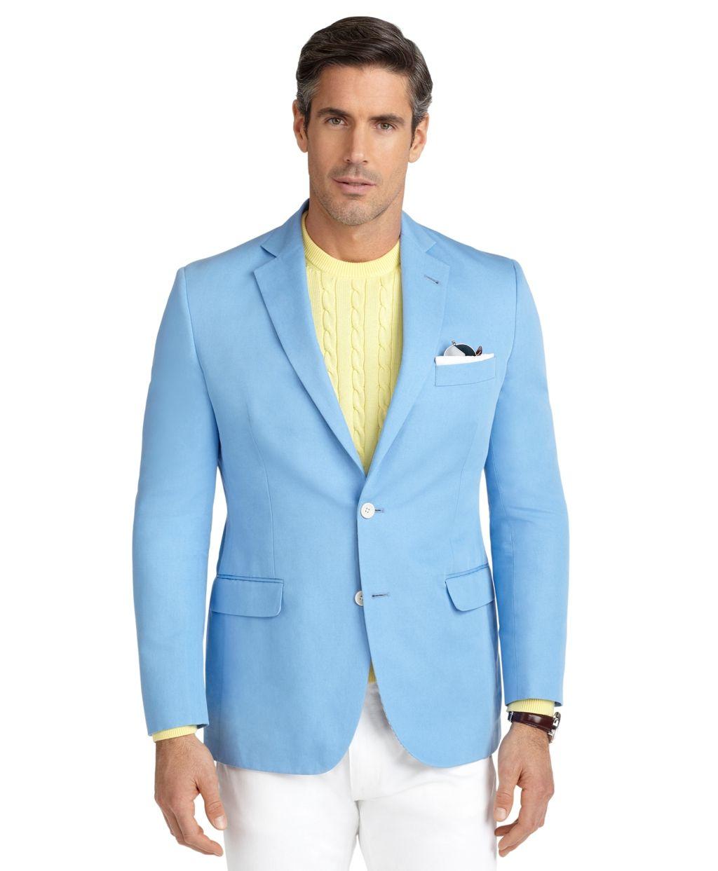 Fitzgerald Fit Cotton Linen Sport Coat - Brooks Brothers | Men ...