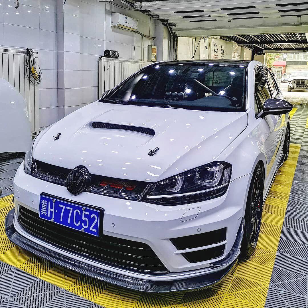 Golf 7 R White Bmw Suv Car Volkswagen Volkswagen