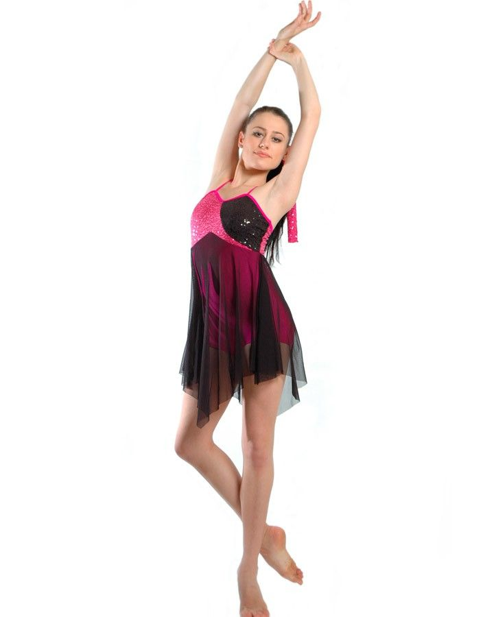782dc09d2 Beautiful Day Fuchsia Lyrical Dance Costume | Dance Costumes | Dance ...