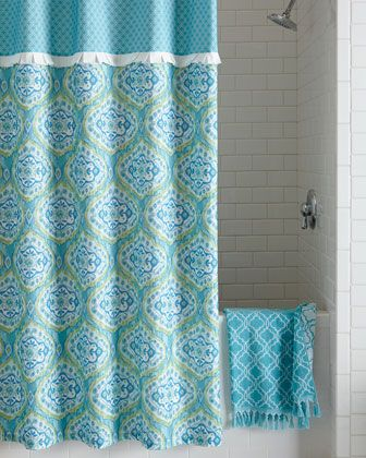 Dena Home Tangiers Shower Curtain Shower Curtain Designer