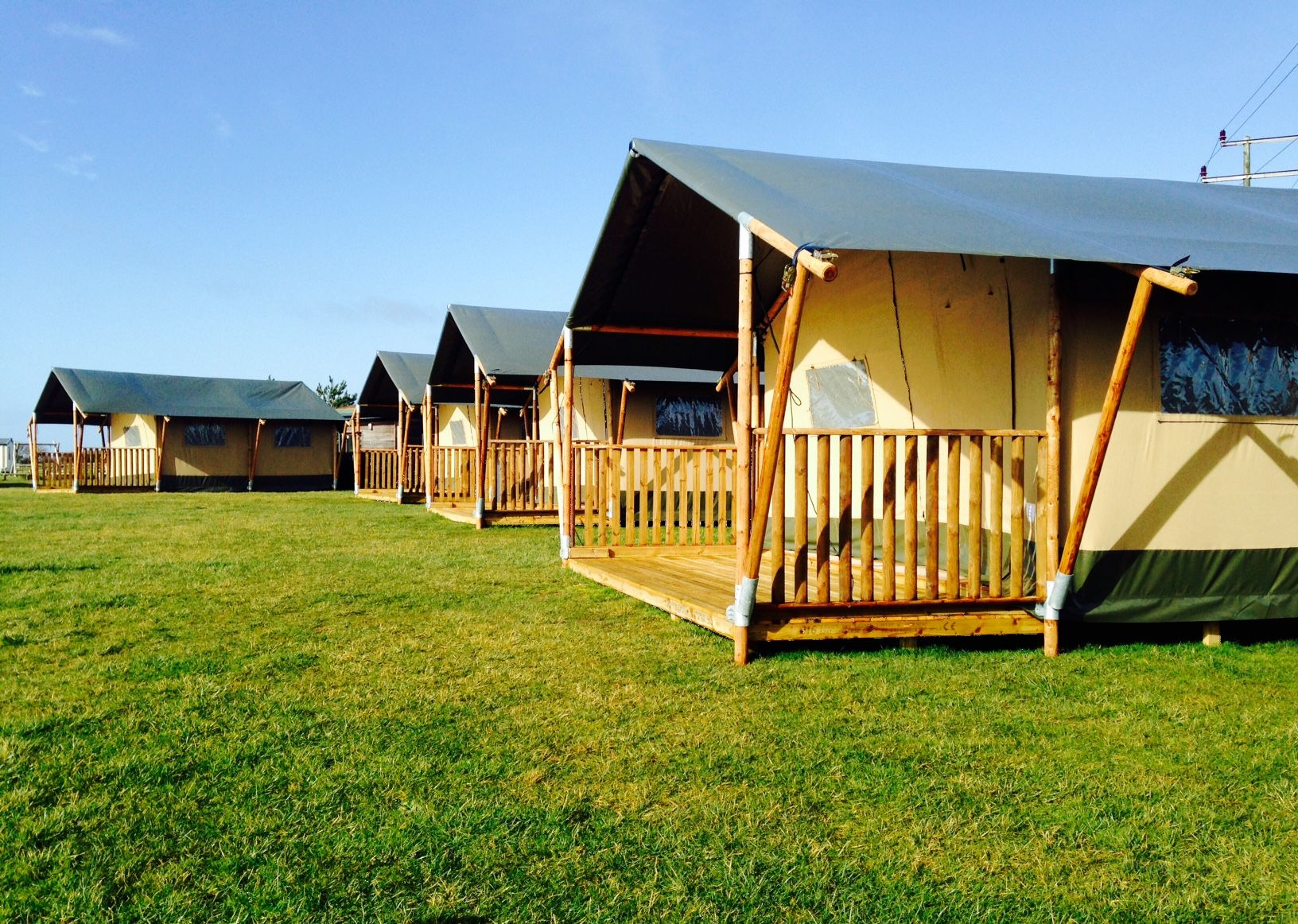 Safari Tents at Littlesea Weymouth & Check out our shiny new Safari Tents at Littlesea! http://bit.ly ...