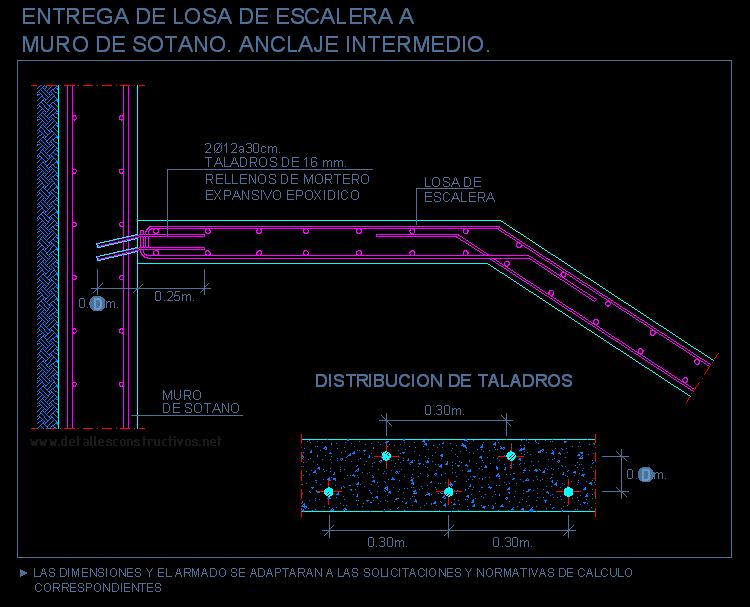 Resultados de la b squeda for Planos de escaleras de concreto armado
