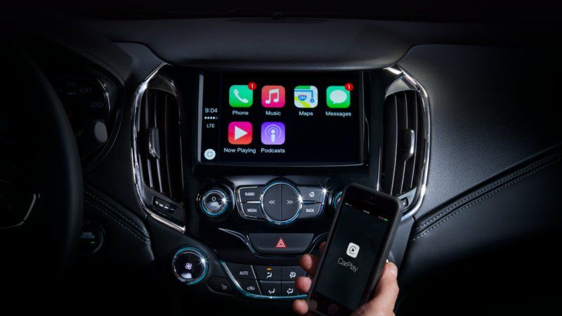 Both Android Auto And Apple Carplay Slated For Chevrolet Lineup Apple Car Play Solar Powered Cars Carplay