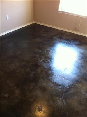 Sample floor