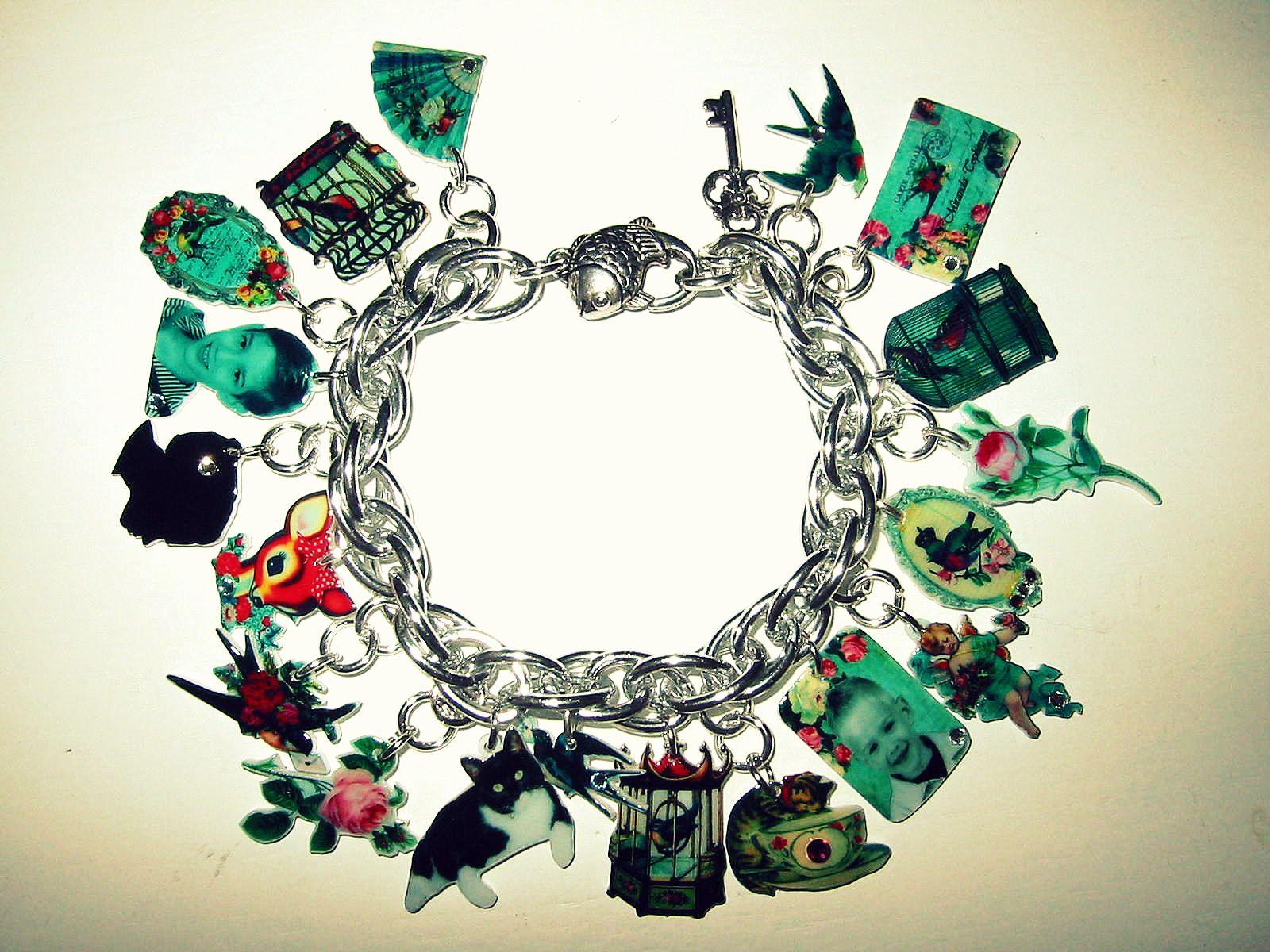 Shrinky dinks armband met je persoonlijke en mooie afbeeldingen...