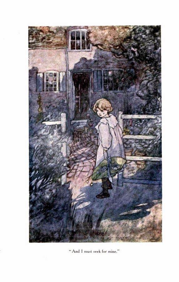 Drawn Imagination Charles Robinson Ilustracion Clasica Dibujos Imaginacion