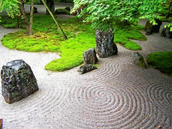 Gartengestaltung Beispiele Feng Shui Garten