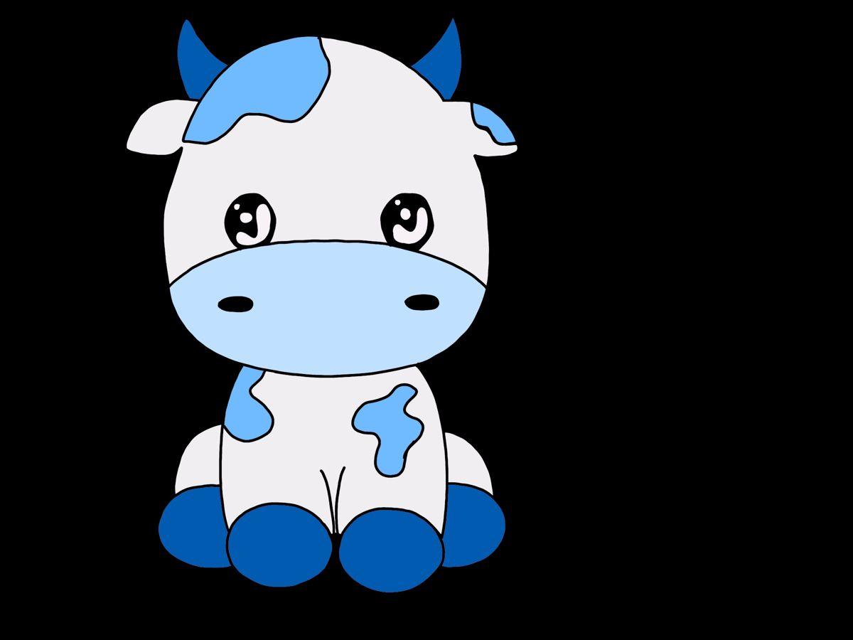 Smileystickerzz Shop Redbubble Cow Wallpaper Blue Cow Cute Cows