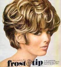 1970s frosted bob hair - Google Search