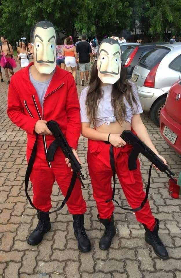 La casa de papel couple costume