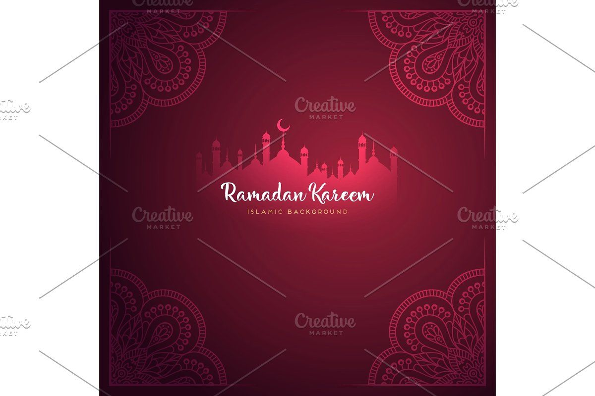 Month Ramadan Greeting Card With Arabic Calligraphy Ramadan Kareem Ramadan Greetings Greeting Card Design Ramadan Kareem