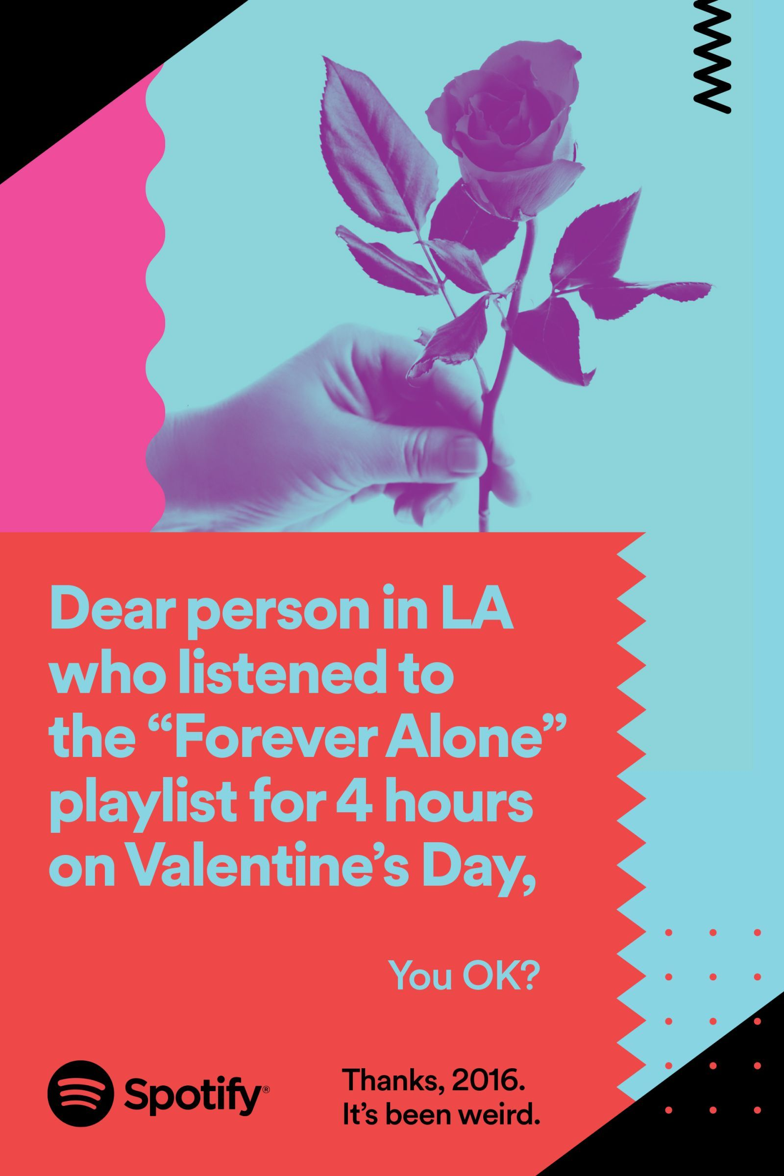 Spotify used listener data to run a hilarious billboard ad