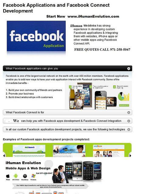 Oregon Website Development Facebook Mobile Applications Visit Www