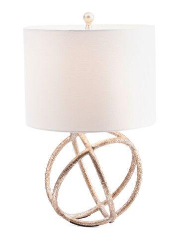Metal Orb Table L& - Lighting - T.J.Maxx  sc 1 st  Pinterest & Metal Orb Table Lamp - Lighting - T.J.Maxx | Decor Get it ...