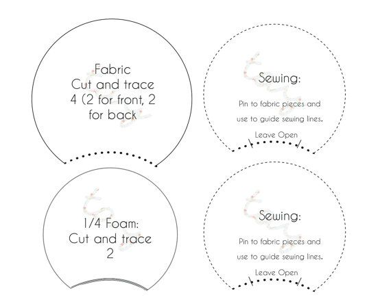 graphic regarding Minnie Mouse Ears Template Printable referred to as PRINTABLE Habit TEMPLATE for Do-it-yourself Mickey Ears or as a result of