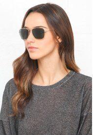 16137c0d59846 Ray-Ban Caravan Sunglasses in Gold
