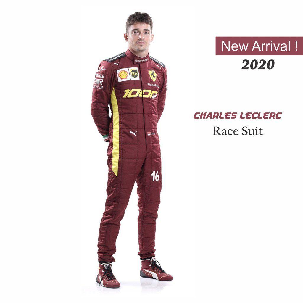 Charles Leclerc Sebastian Vettel Race Suit Replica Match Scuderia Ferrari S 1000s In 2020 Racing Ferrari Suits