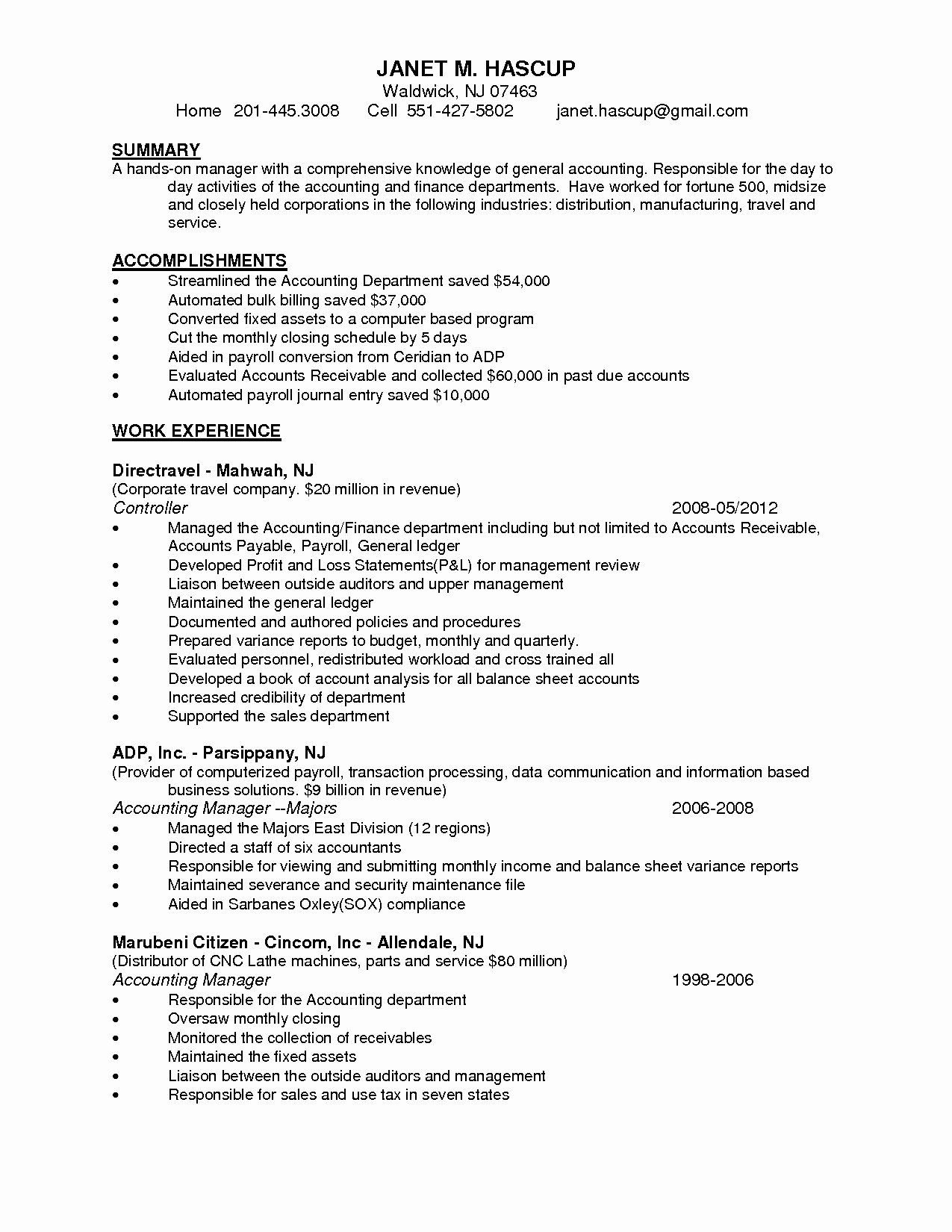 23 accounts receivables resume examples in 2020 high school student for college best technical example ojt business administration students