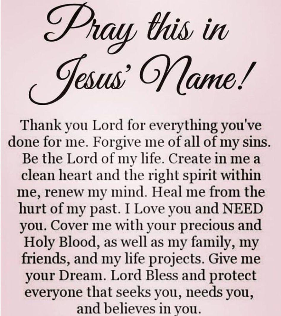 IN JESUS NAME I PRAY AMEN, AMEN, AND AMEN!