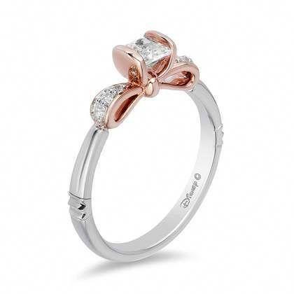 Zales Enchanted Collection Disney Princess Engagement Rings