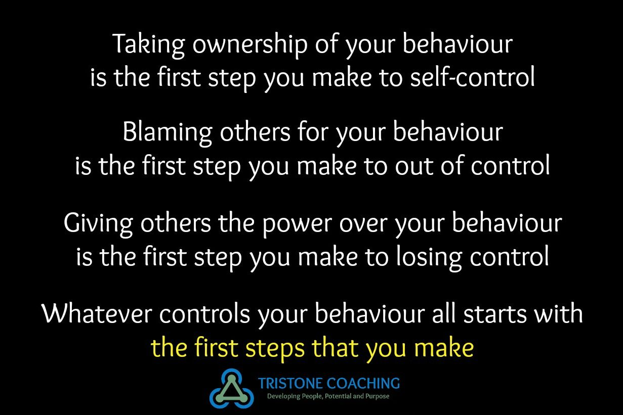 Managing Anger Begins With Taking The First Step Of