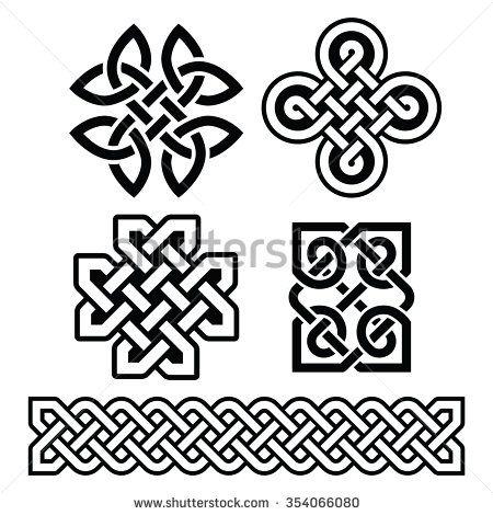 Celtic Irish Patterns And Braids Vector By RedKoala Celtic Amazing Irish Patterns
