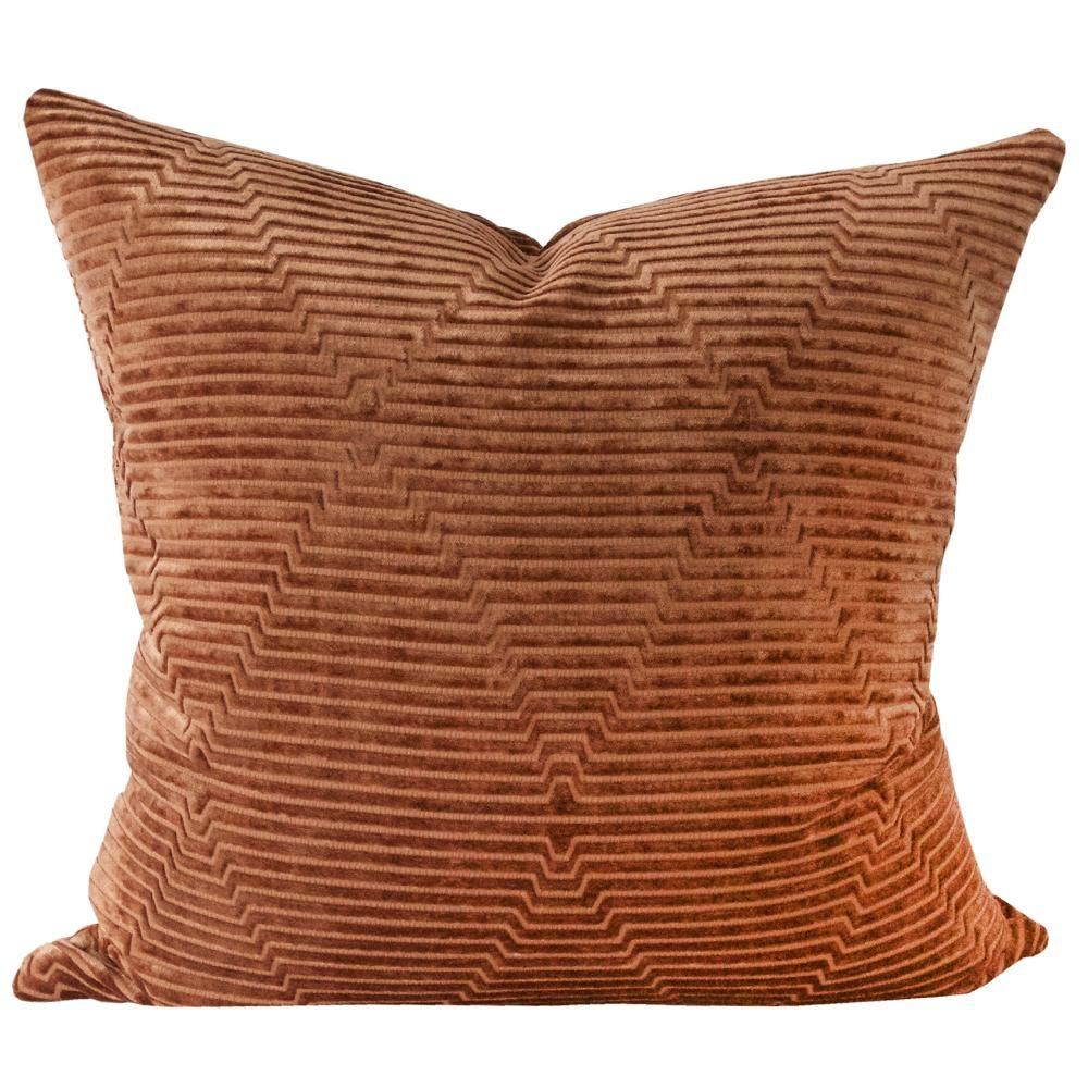 Fitzgerald Rust Tonic Living Rust Colored Pillows Rust Throw Pillows Rust Colored Throw Pillows