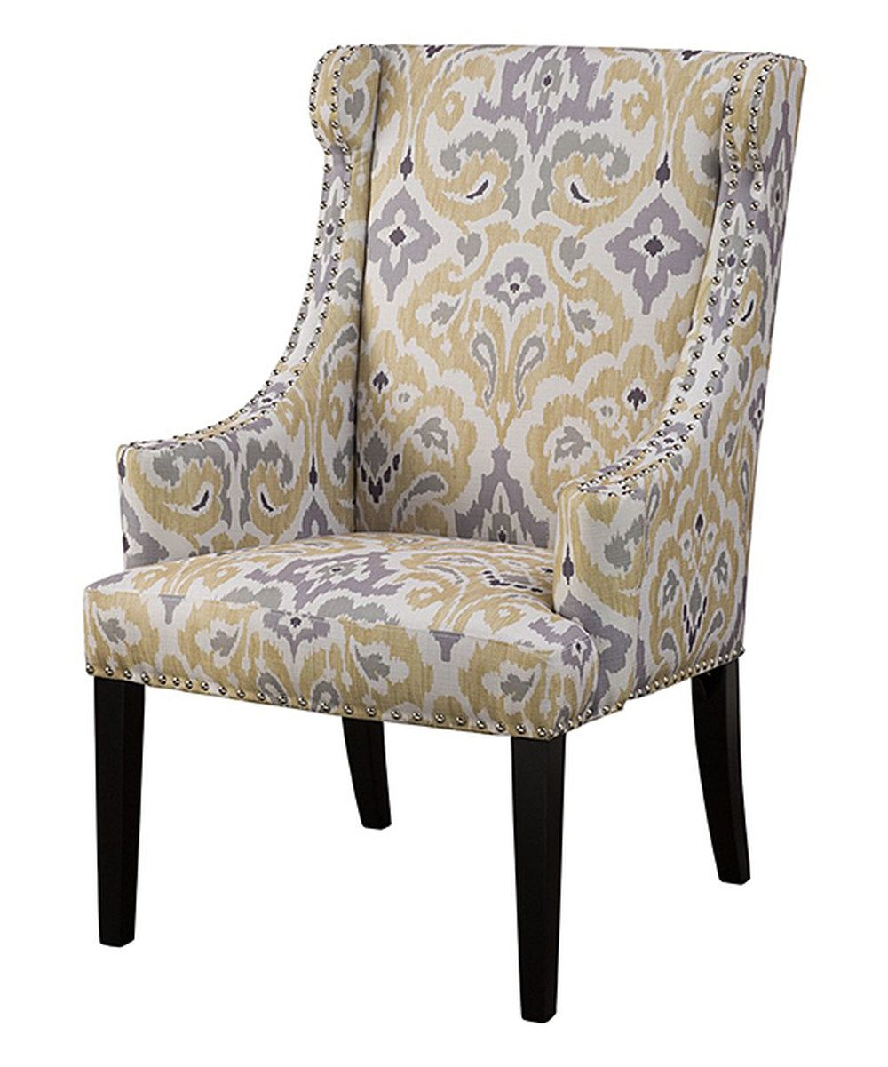 Look at this Yellow & Gray Chair on #zulily today ...