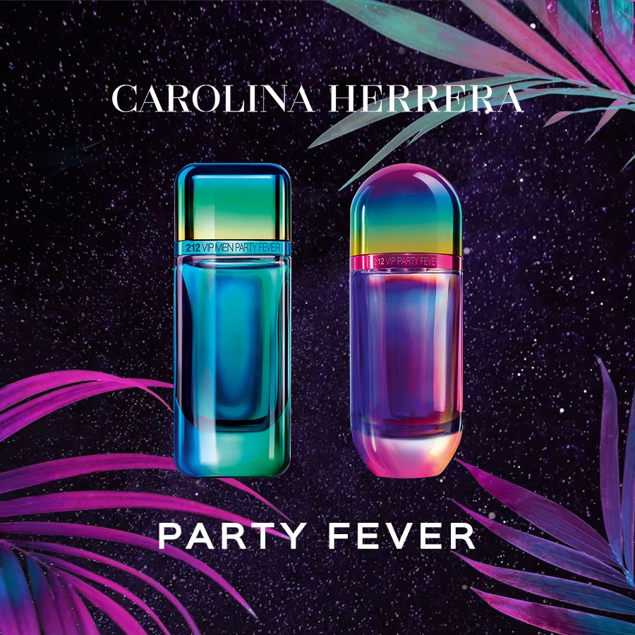 A mais recente edição limitada de 212 VIP Party Fever de Carolina Herrera  celebra um novo a174182884