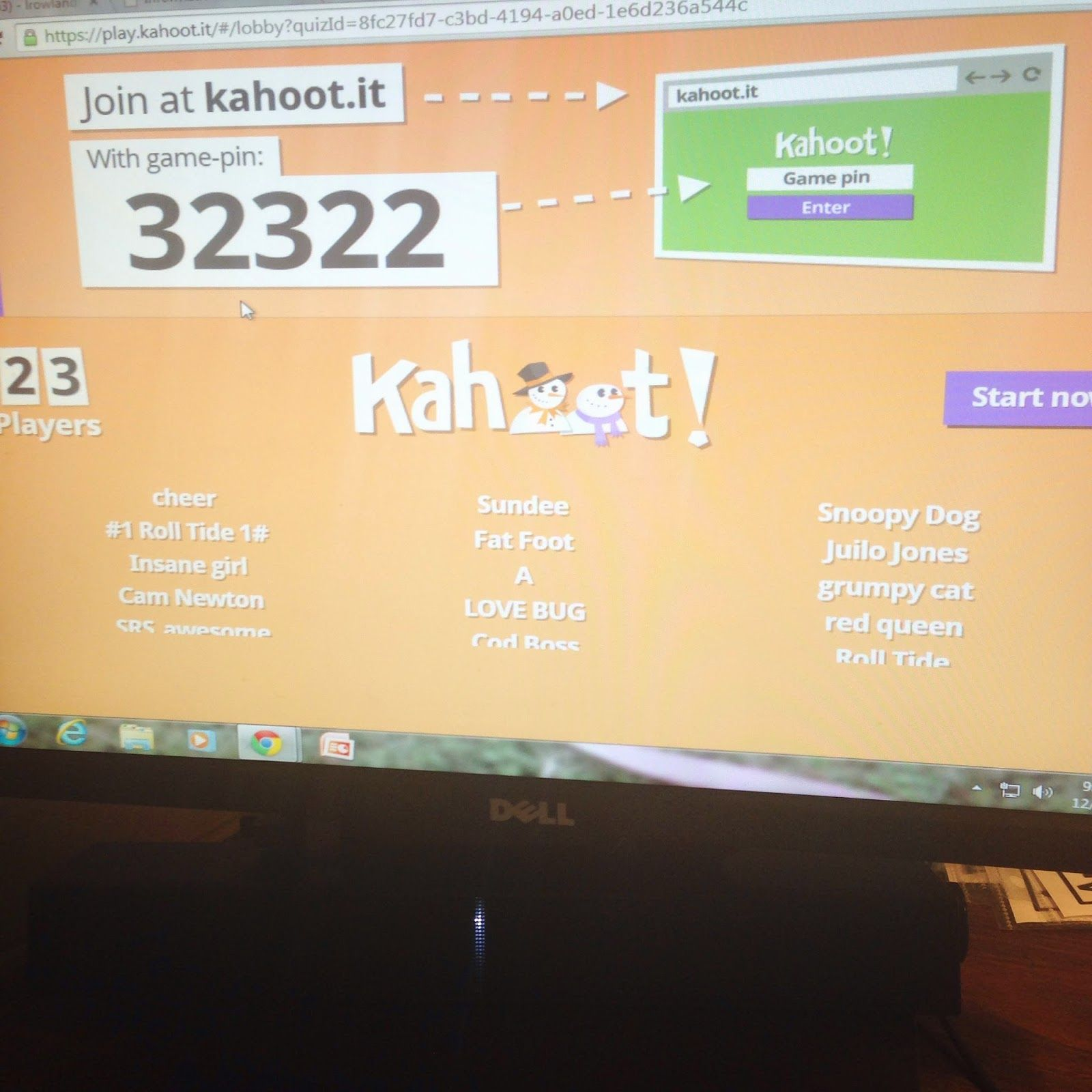 """Kahoot """"I've noticed a HUGE difference in their vocabulary"""