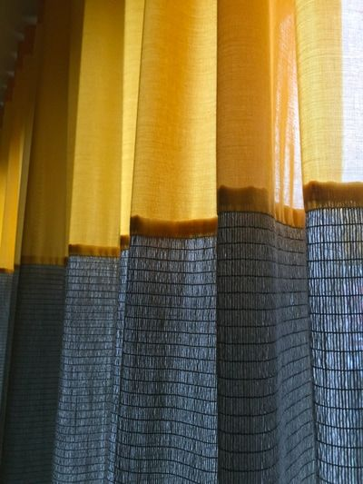Grey & Yellow Curtains by Kimik -Kimik No.41 kimik | design ...