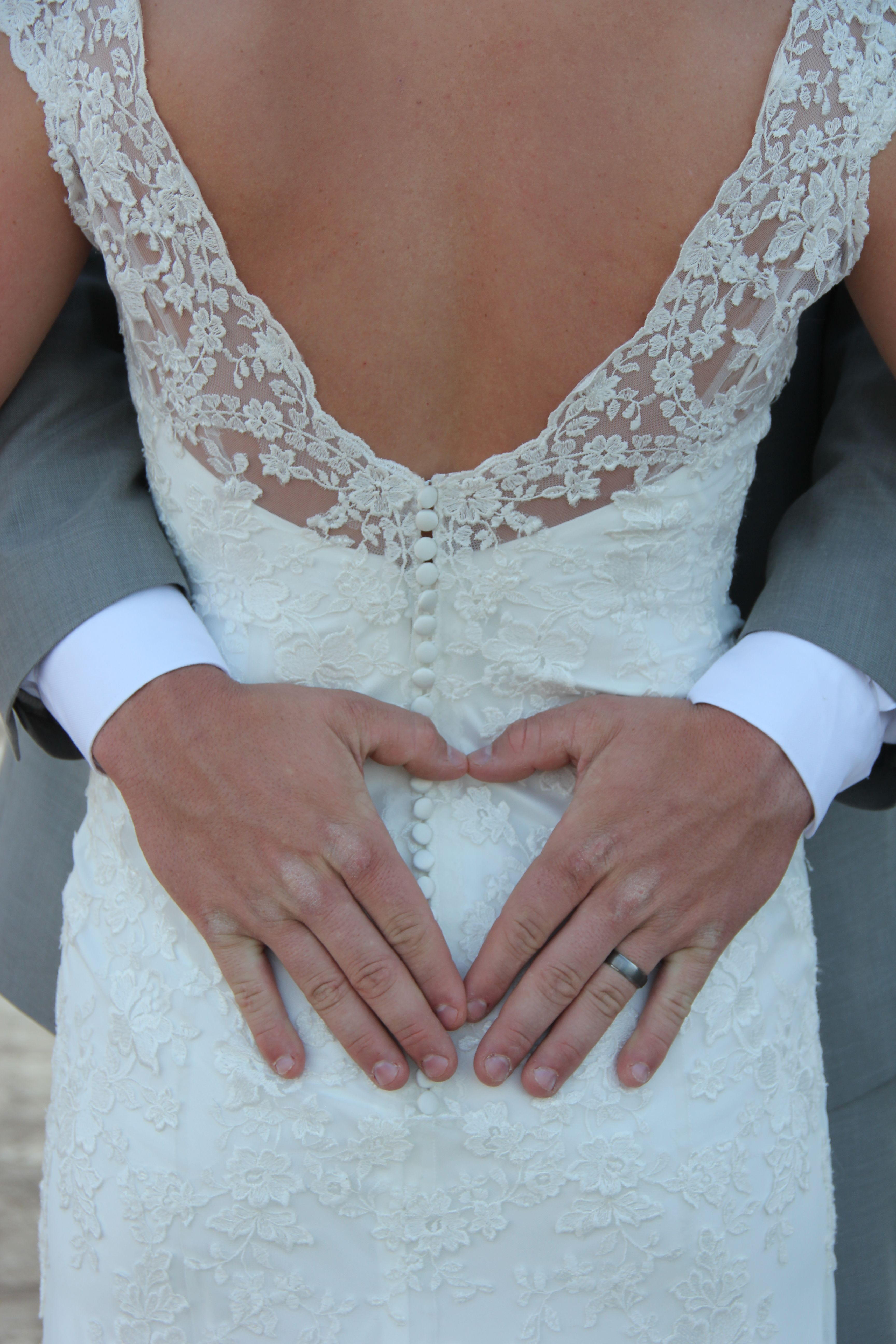 His hands show hard work not pampered Wedding dresses