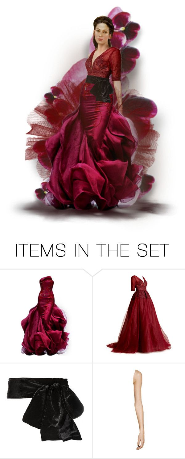 """Veils & Pansies"" by ritadolce ❤ liked on Polyvore featuring art"