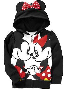 Disney Mickey Mouse Girls Sherpa Pullover Hoodie
