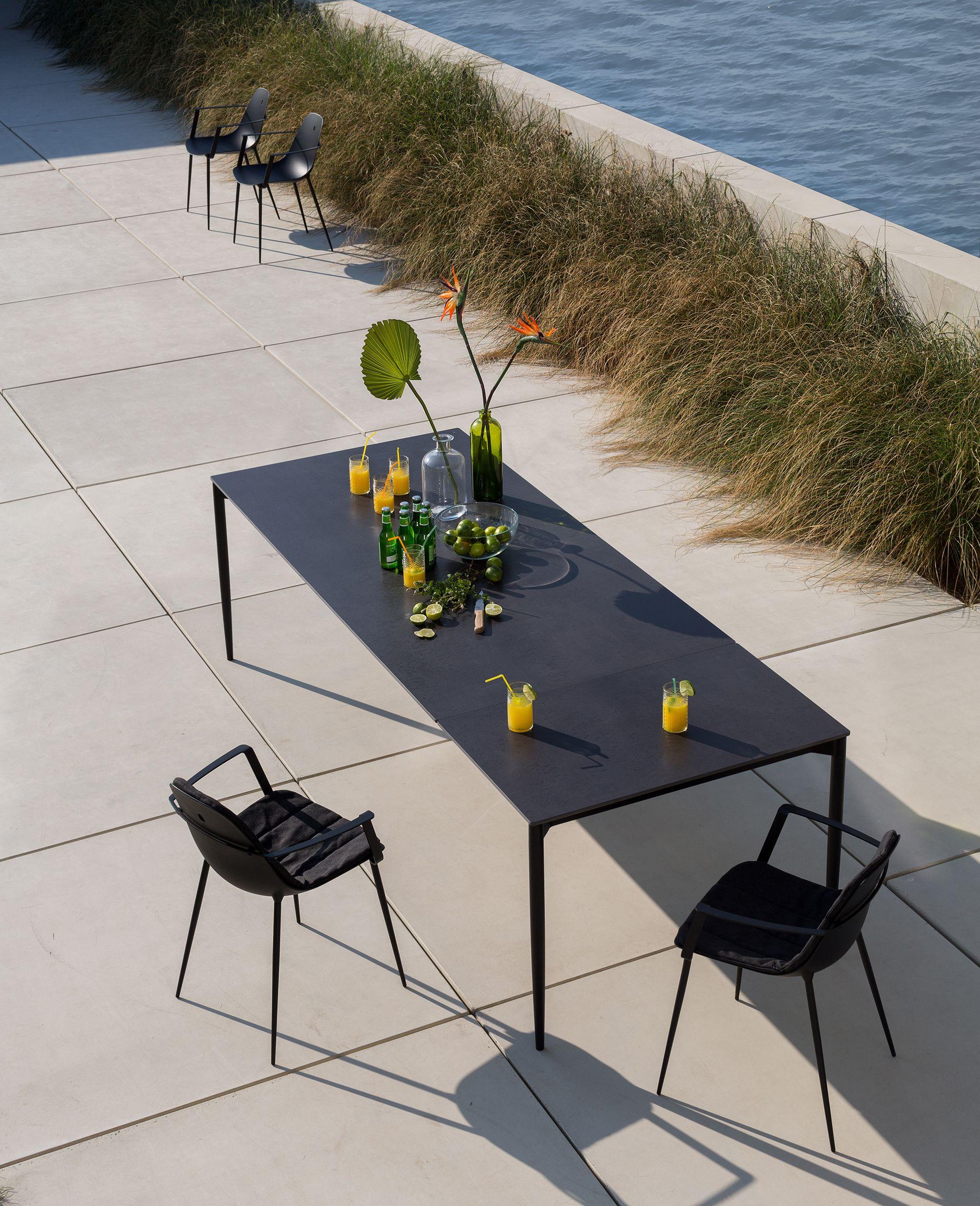 Marguerite uittrekbare tafel en stoel, bij Top Interieur in Izegem ...