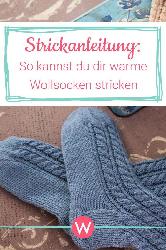 Photo of Warme Wollsocken stricken | Wunderfrau
