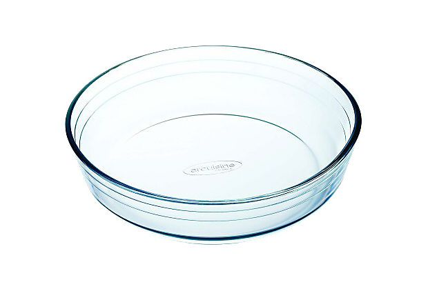"Luminarc Arcuisine Borosilicate Dish :: Retail $20 ea. [8.6""Dia] Microwave, dishwasher & oven safe :: These would be perfect for my glass cloches"