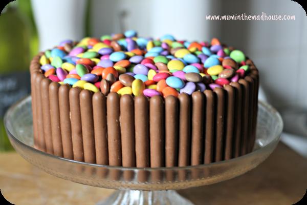 Torta twix e smarties ricetta