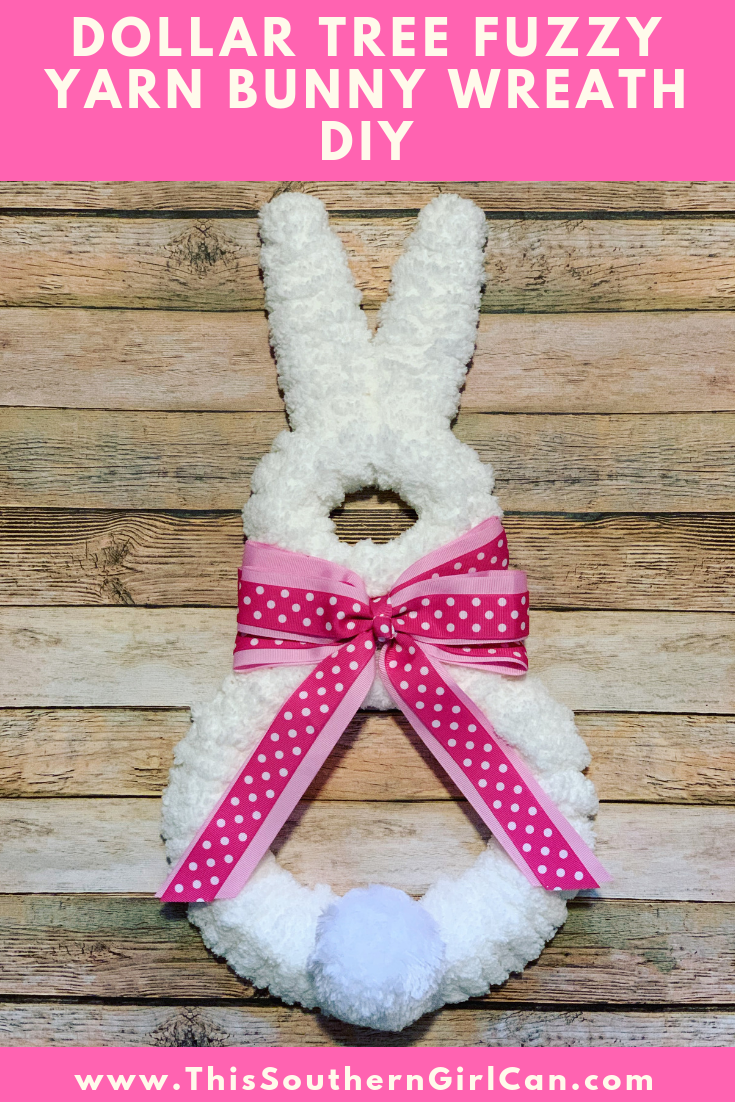 Easter Bunny Wreath Dollar Stores