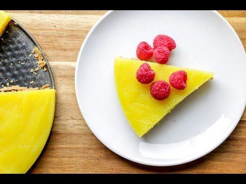 Vegan Lemon Pie - The Buddhist Chef