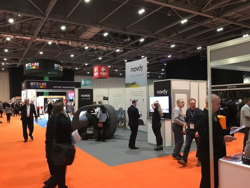 Smart rings galore at the London Wearable Technology Show