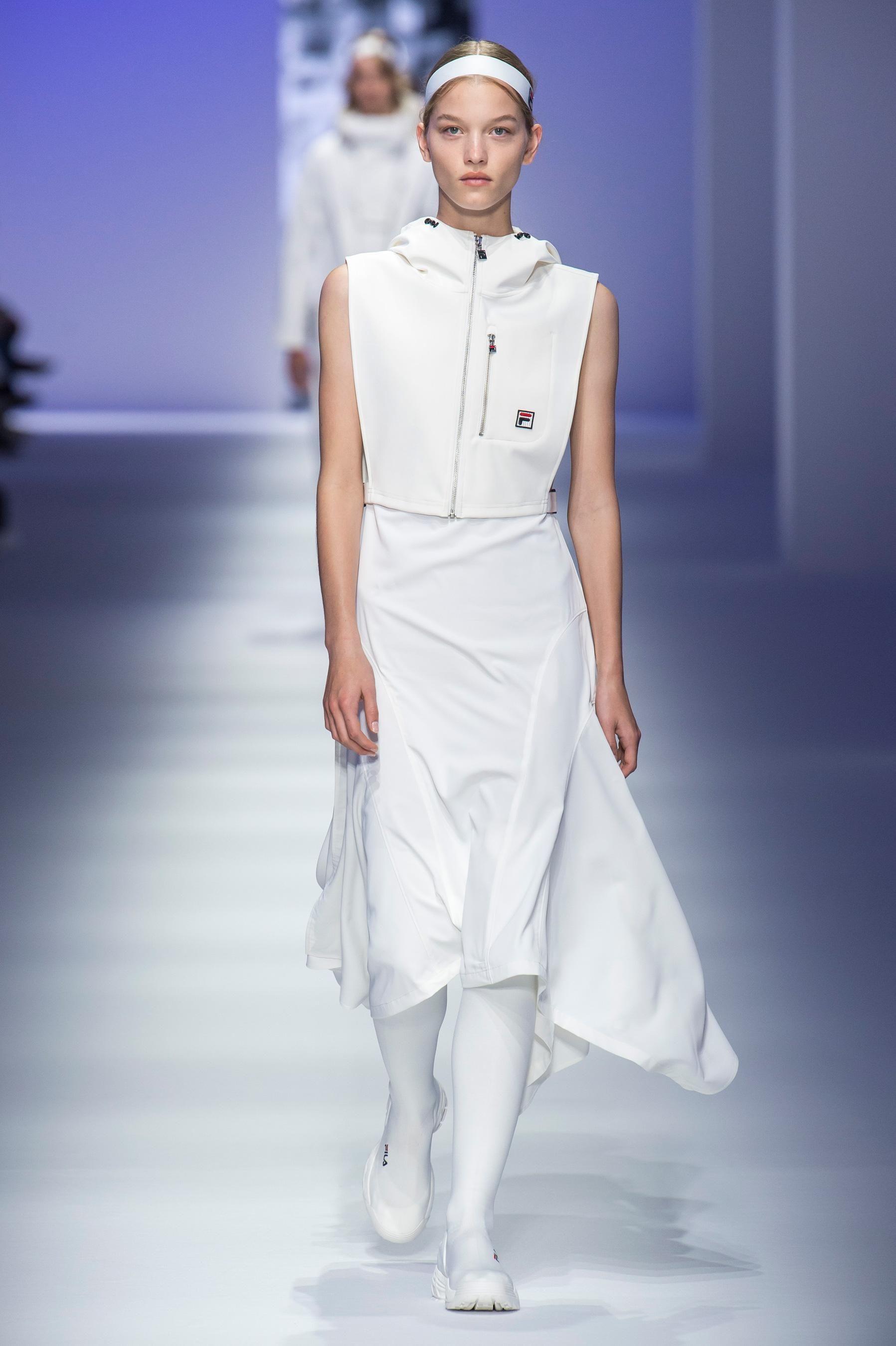 Défilé Fila Prêt à porter printemps été 2019 Milan Elle