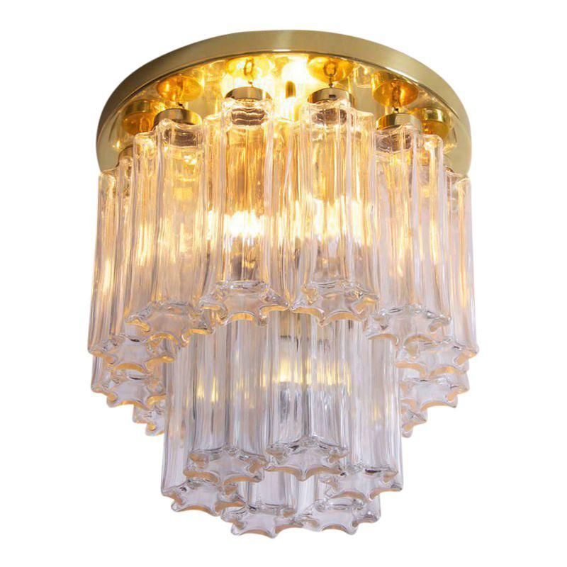 Limburger 3038 Flush Mount Or Chandelier In The Manner Of Venini