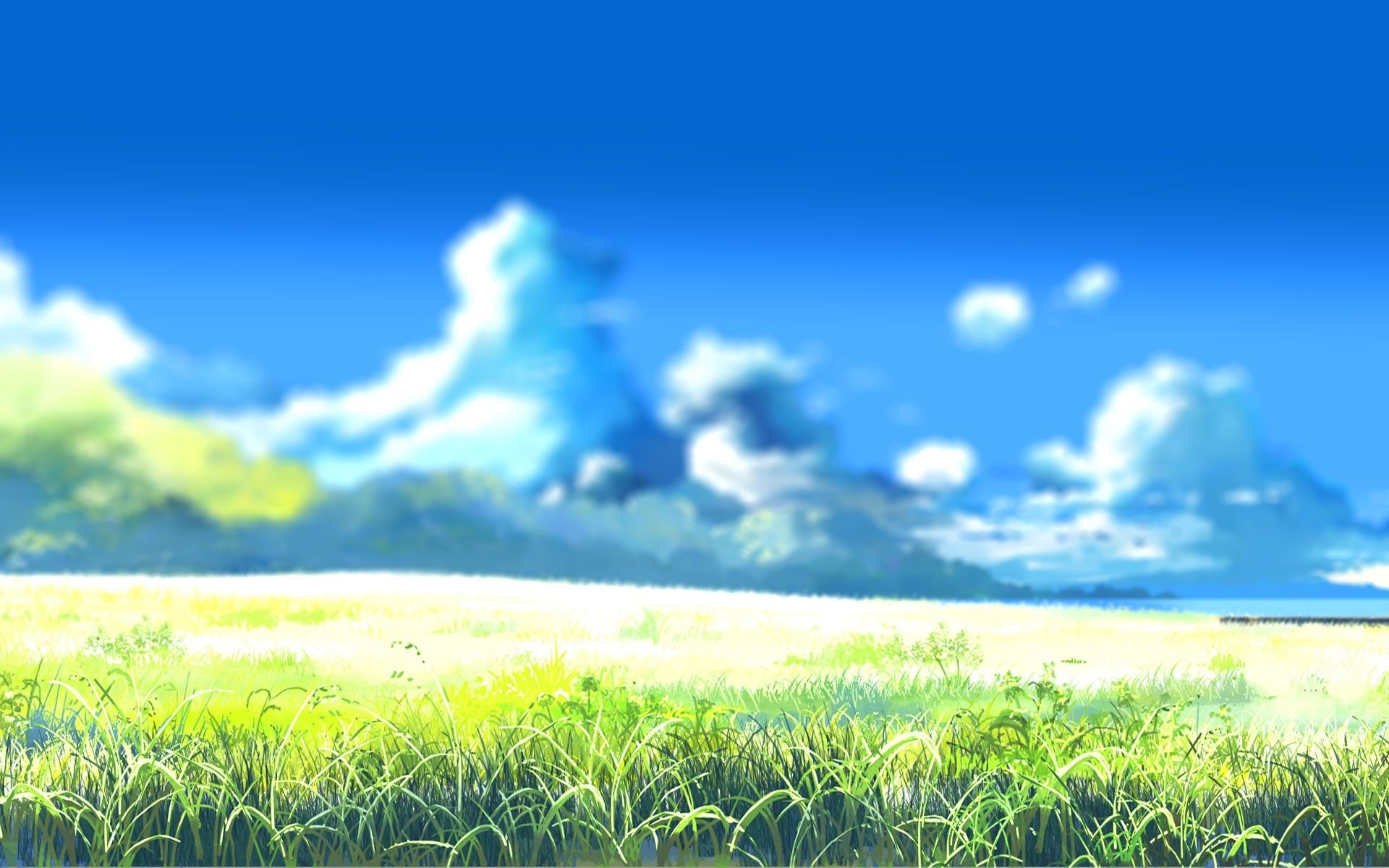 Drawing Landscape Anime Landscape Nature Drawing Blurred Wallpapers Hd Desktop And Jpg 1920 1200 Landscape Nature Nature Drawing